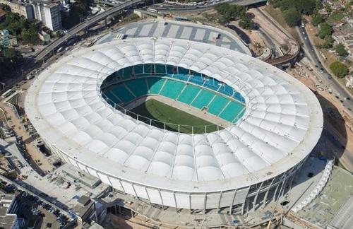 INSPEÇÃO DA FIFA NA ARENA FONTE NOVA