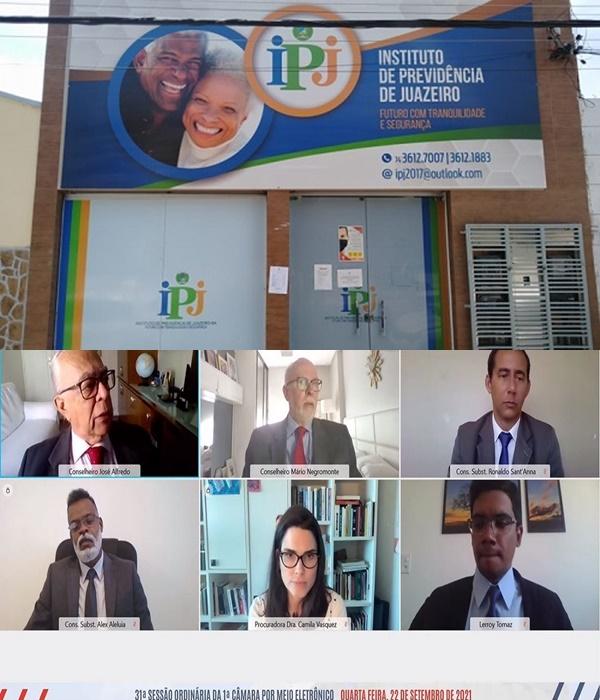 CONTAS DO INSTITUTO DE PREVIDÊNCIA DE JUAZEIRO SÃO REJEITADAS