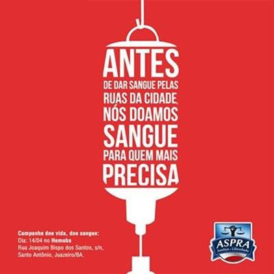 Blog Do Geraldo José Campanha Doe Vida Doe Sangue