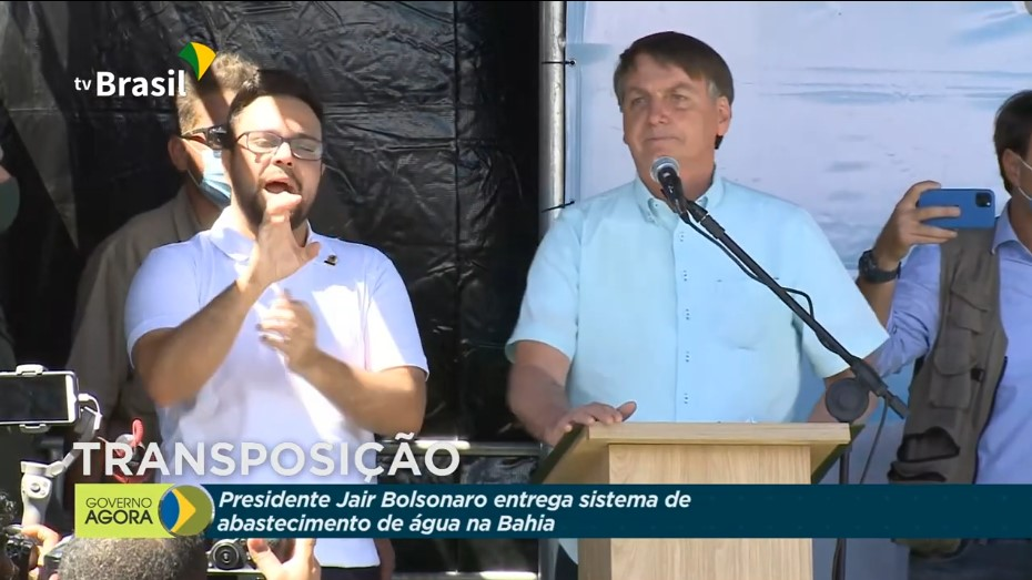 RedeGN - Jair Bolsonaro inaugurou Sistema de Abastecimento em ...
