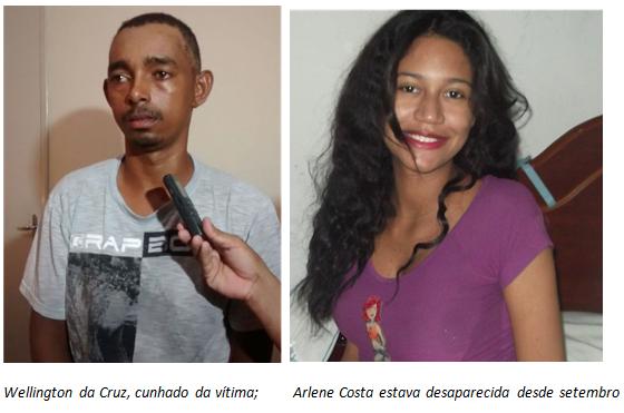 JUAZEIRO: MORTA PELO CUNHADO A GOLPE DE MARRETA, ENFORCADA E VIOLENTADA