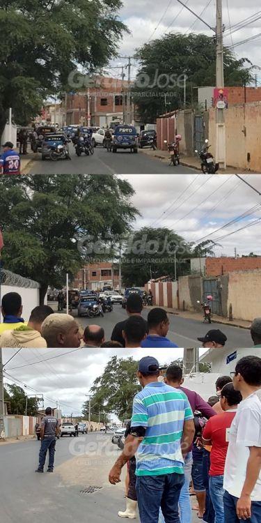 CINCO ASSALTANTES DE BANCO MORREM NA TROCA DE TIROS COM A POLICIA EM JUAZEIRO